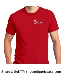 Red Bearz T Shirts Design Zoom