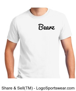 White Bearz T Shirt Design Zoom