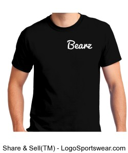 Black Bearz T-Shirt Design Zoom