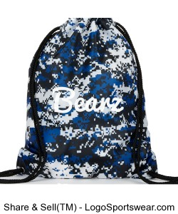 Camo Bearz Sports Bag Design Zoom