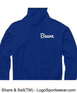 Blue Bearz Hoodie/Jumper Design Zoom